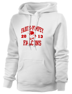 Fabius-Pompey MiddleHigh School Falcons Russell Women's Pro Cotton Fleece Hooded Sweatshirt