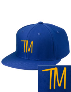 Truman Moon Elementary School Rockets Embroidered Diamond Series Fitted Cap
