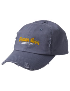 Truman Moon Elementary School Rockets Embroidered Distressed Cap