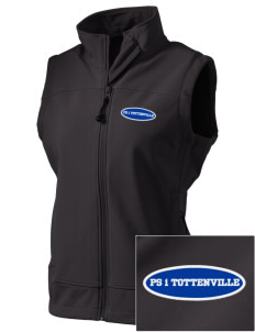PS 1 Tottenville Eagles  Embroidered Women's Glacier Soft Shell Vest