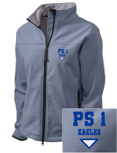 PS 1 Tottenville Eagles Embroidered Women's Glacier Soft Shell Jacket