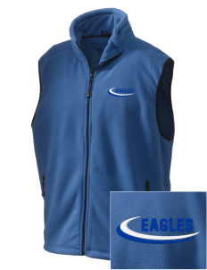 PS 1 Tottenville Eagles Embroidered Unisex Wintercept Fleece Vest