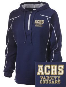 Alexander Central High School Cougars Embroidered Russell Women's Prestige 1/4 Zip Jacket
