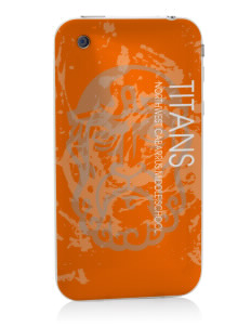 Northwest Cabarrus Middle School Titans Apple iPhone 3G/ 3GS Skin