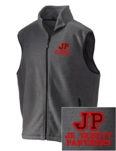 Jackson Park Elementary School Panthers Embroidered Unisex Wintercept Fleece Vest
