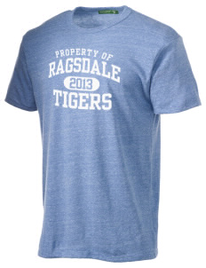 Ragsdale High School Tigers Alternative Men's Eco Heather T-shirt
