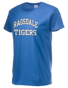 Ragsdale High School Tigers Women's 6.1 oz Ultra Cotton T-Shirt