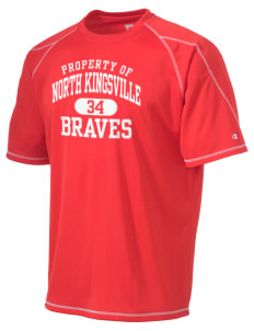 North Kingsville Elementary School Braves Champion Men's 4.1 oz Double Dry Odor Resistance T-Shirt