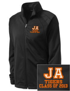 Jefferson Avenue Elementary School Tigers Embroidered Women's Tricot Track Jacket