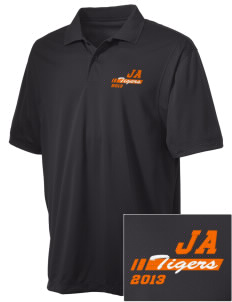 Jefferson Avenue Elementary School Tigers Embroidered Men's Micro Pique Polo