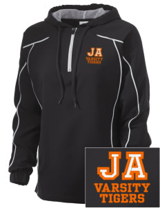 Jefferson Avenue Elementary School Tigers Embroidered Russell Women's Prestige 1/4 Zip Jacket