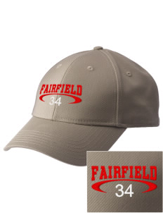 Fairfield High School Indians  Embroidered New Era Adjustable Structured Cap