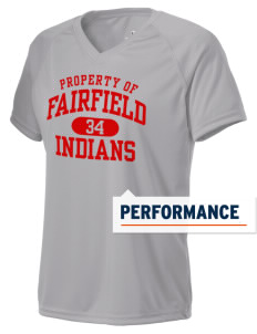 Fairfield High School Indians Holloway Women's Zoom Performance T-Shirt
