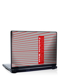 "Fairfield West Elementary School Indians 17"" Laptop Skin"