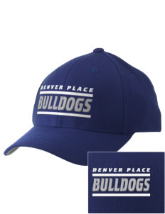 Denver Place Elementary School Bulldogs Embroidered Pro Model Fitted Cap
