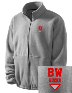 Buckeye West Elementary School Bucks Embroidered Men's Fleece Jacket