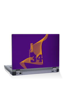 "Harding Middle School Hawks 10"" Laptop Skin"