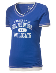 Hilliard Davidson High School Wildcats Holloway Women's Dream T-Shirt