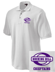 Hocking Hill Elementary School Chieftains Embroidered Tall Men's Pique Polo