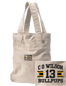 C O Wilson Middle School Bullpups Embroidered Alternative The Berkeley Tote