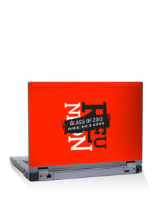 "Mentor High School Cardinals 10"" Laptop Skin"