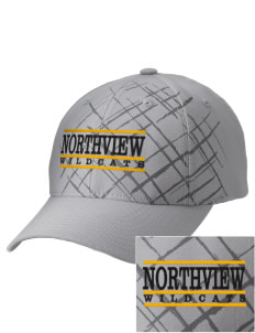 Northview High School Wildcats Embroidered Mixed Media Cap