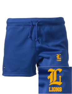 "Leverette Junior High School Lions Embroidered Holloway Women's Balance Shorts, 3"" Inseam"