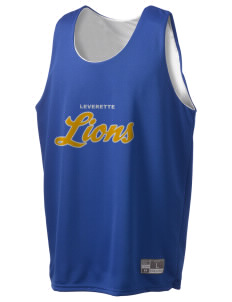 Leverette Junior High School Lions Holloway Men's Halfcourt Reversible Basketball Jersey