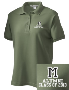 McKinley Elementary School Bulldogs Women's Embroidered Silk Touch Polo
