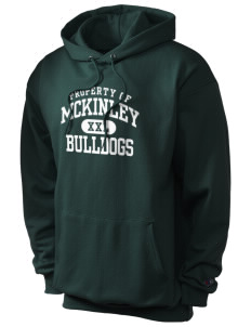 McKinley Elementary School Bulldogs Champion Men's Hooded Sweatshirt
