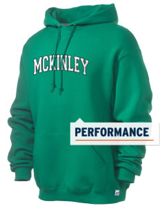 McKinley Elementary School Bulldogs Russell Men's Dri-Power Hooded Sweatshirt