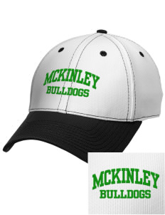McKinley Elementary School Bulldogs Embroidered New Era Snapback Performance Mesh Contrast Bill Cap