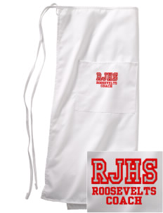 Roosevelt Junior High School Roosevelts Embroidered Full Bistro Bib Apron