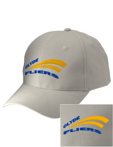 Clyde High School Fliers Embroidered Low-Profile Cap