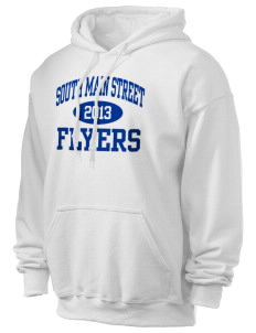 South Main Street Elementary School Flyers Ultra Blend 50/50 Hooded Sweatshirt