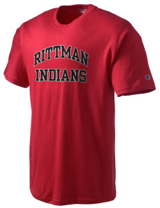 Rittman High School Indians Champion Men's Tagless T-Shirt