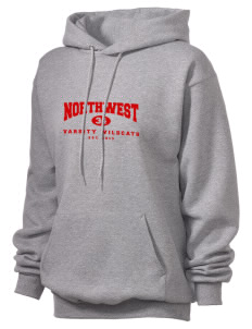 Northwest 6th Grade Center Wildcats Unisex Hooded Sweatshirt