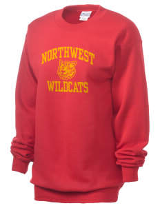 Northwest 6th Grade Center Wildcats Unisex 7.8 oz Lightweight Crewneck Sweatshirt