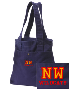 Northwest 6th Grade Center Wildcats Embroidered Alternative The Berkeley Tote