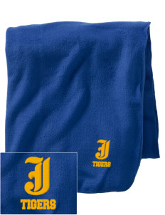 Jackson Elementary School Tigers Embroidered Holloway Stadium Fleece Blanket