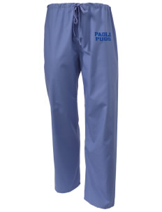 Paoli High School Pugs Scrub Pants