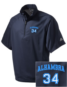 Alhambra Adult School Alhambra Embroidered adidas Men's ClimaProof Wind Shirt