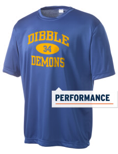 Dibble Senior High School Demons Men's Competitor Performance T-Shirt