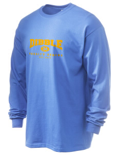 Dibble Senior High School Demons 6.1 oz Ultra Cotton Long-Sleeve T-Shirt