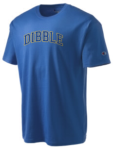 Dibble Senior High School Demons Champion Men's Tagless T-Shirt