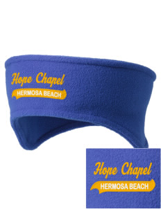 Hope Chapel Academy Hermosa Beach Embroidered Fleece Headband