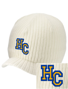 Hope Chapel Academy Hermosa Beach Embroidered Knit Beanie with Visor