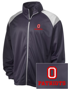 Oxford Academy Patriots Embroidered Men's Tricot Track Jacket