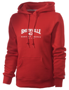 Smithville Elementary School Braves Russell Women's Pro Cotton Fleece Hooded Sweatshirt