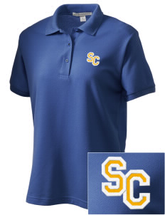 Sierra Christian School Rocklin Women's Embroidered Silk Touch Polo